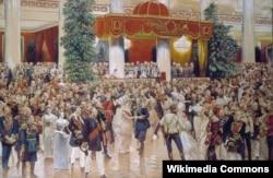Бал в Петербургском Дворянском собрании 1913 года в честь 300-летия династии Романовых