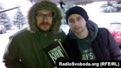 Олександр Положинський (ліворуч) і Сергій Жадан