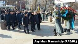Казакстан - Желтоксон окуясын эскерүү. Алматы, 17-декабрь, 2015.