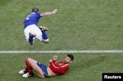 İtaliya-İspaniya oyunu