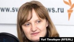 Галина Кожевникова в гостях у Радио Свобода (декабрь 2009 года)