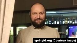 Сергей Капанец — сябра ініцыятыўнай групы Віктара Бабарыкі, архіўнае фота