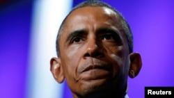 ԱՄՆ - Նախագահ Բարաք Օբաման ելույթ է ունենում Քլինթոնի համաշխարհային նախաձեռնության նստաշրջանին, Նյու Յորք, 23-ը սեպտեմբերի, 2014թ․