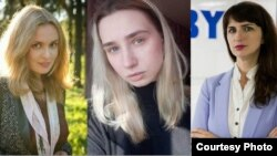 Слева направо: Катерина Андреева, Дарья Чульцова, Катерина Борисевич