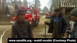 Трудовые мигранты из Узбекистана в городе Иркутске.