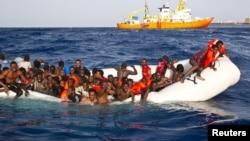 Порятунок мігрантів у Середземному морі, ілюстраційне фото
