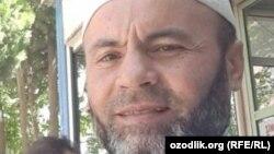 48-летний узбекистанец Бахриддин Худойназаров.
