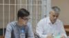 Владимир Жоглик и его адвокат на заседании суда (архивное фото)