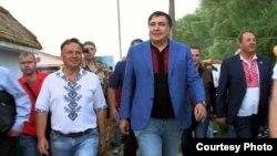 Gürcüstanın keçmiş prezidenti Mikheil Saakashvili