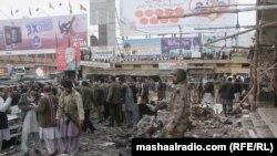 Forcat e sigurisë pakistaneze zhvillojnë hetime në vendin e shpërthimit në qytetin Kueta