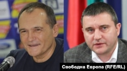 Васил Божков и Владислав Горанов