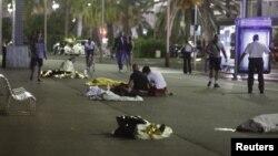 Ֆրանսիա - Նիսում հարձակման հետևանքով զոհվածների մարմիններ