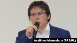 Гражданский активист, журналист Жанболат Мамай.