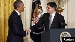Barak Obama və Jack Lew