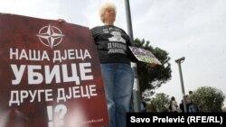 Protest protiv NATO u Podgorici
