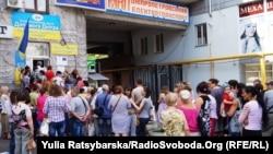 Гуманітарна допомога ООН, Дніпропетровськ, 2 липня 2015 року