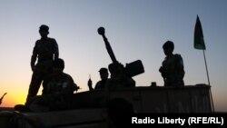 Əfqanıstan ordusu əməliyyat zamanı, arxiv fotosu