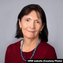 پتریشا گاسمن معاون بخش آسیای دیدبان جهانی حقوق بشر