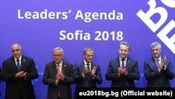 Евробиримдик лидерлери Софиядагы саммитте. 17-май, 2018-жыл.
