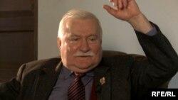 Лех Валенса, бывший президент Польши.