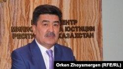 Ауыл шаруашылығы министрінің орынбасары Ерлан Нысанбаев. Астана, 3 қараша 2016 жыл.