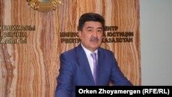 Ерлан Нысанбаев, вице-министр сельского хозяйства.