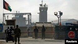 Содырлар қамалған Ауғанстан түрмесі. Кабул, 13 ақпан 2014 жыл.