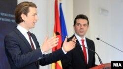 Себастијан Курц и Никола Попоски