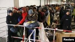 Փախստականներ Եվրոպայում, դեկտեմբեր, 2015թ․