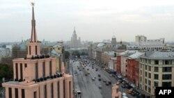 Главная сцена празднования Дня города в Москве