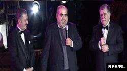 Arxiv foto: Telman İsmayılov, Allahşükür Paşazadə və Abbas Abbasov