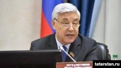 Председатель Госсовета Татарстана Фарид Мухаметшин