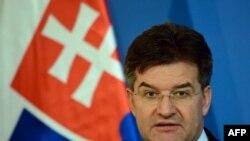 Miroslav Lajčak, ministar vanjskih poslova Slovačke i predsjedavjući Savjeta za vanjske poslove EU