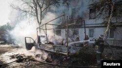 Ситуация вблизи Донецкого аэропорта, 6 октября 2014