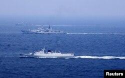 Китайские военно-морские суда, иллюстрационное фото