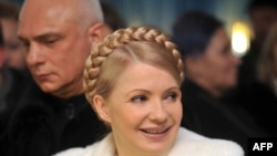 Yulia Tymoshenko with her husband, Oleksandr (file photo)