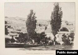 Ханский дворец в Бахчисарае. Из книги «Очерки Крыма»