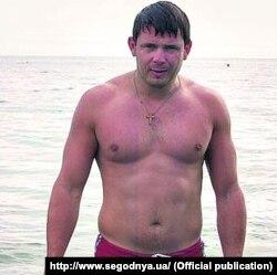 Андрій Козар – соратник Євгена Жиліна, ватажка «Оплоту» (архівне фото)