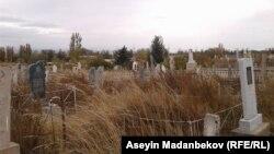 Кладбище в Иссык-Кульской области. Иллюстративное фото.