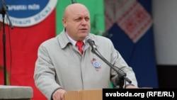 Крычаў, старшыня Крычаўскага райвыканкаму Васіль Сысоеў