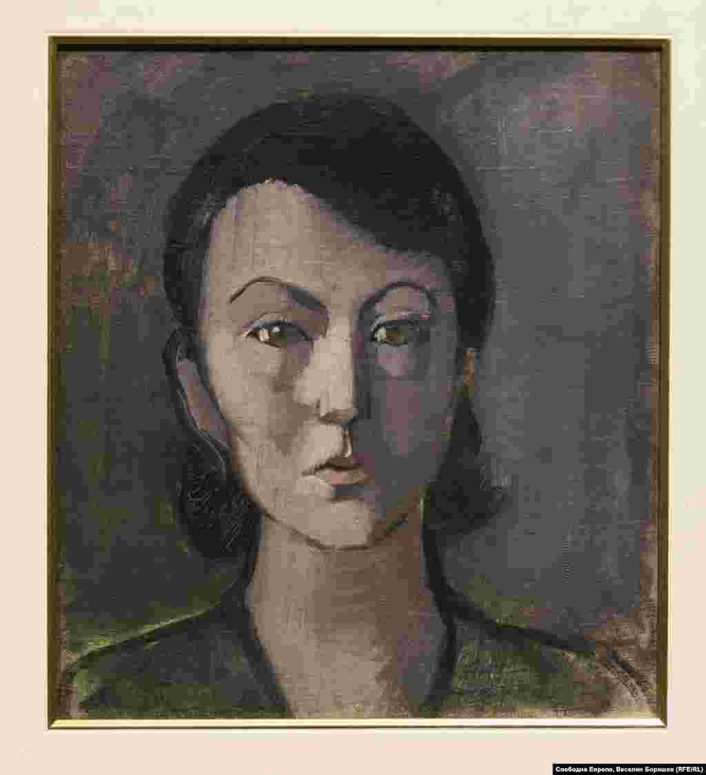 """Тодорка Бурова, """"Автопортрет"""". Жените в изкуството започват да си проправят път след дълги години на властващи патриархални традиции."""