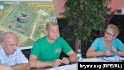 Руководители «Крымского антикоррупционного фронта «Тайган»