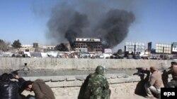 Кабул 18 Јануари - сцена од борбите