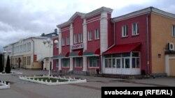 Захаваныя старыя будынкі Шклова