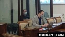 Працэс у справе Аляксандра Кардзюкова, архіўнае фота