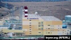 Балаклавская ТЭС под Севастополем