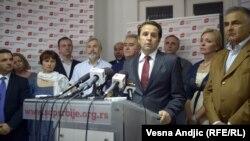 Rasim Ljajić na konferenciji za novinare, 19. jul 2012.