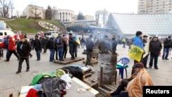 """""""Евромайдан"""" в центре Киева. 28 ноября 2013 года"""