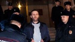 Nawalnyý protestleriň öňýany tussag edildi