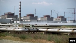A general view of the Zaporizhzhya nuclear power plant (file photo)